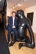 BEN BROWN, Pavilion of art and design.- PAD London  Berkeley Square. London. 10 October 2011. <br /> <br />  , -DO NOT ARCHIVE-© Copyright Photograph by Dafydd Jones. 248 Clapham Rd. London SW9 0PZ. Tel 0207 820 0771. www.dafjones.com.