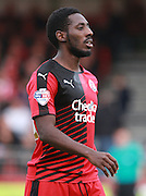 Crawley Town midfielder Roarie Deacon during the Sky Bet League 2 match between Crawley Town and Leyton Orient at the Checkatrade.com Stadium, Crawley, England on 10 October 2015. Photo by Bennett Dean.