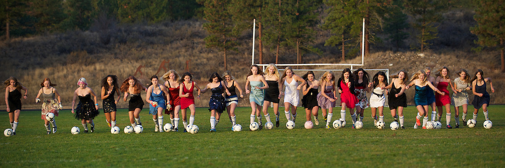 Lady Lions - dresses & cleats for Baldy