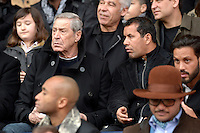 JEAN CLAUDE DARMON / Ali BERNARBIA  - 07.03.2015 -   PSG / Lens -  28eme journee de Ligue 1 <br />Photo : Andre Ferreira / Icon Sport