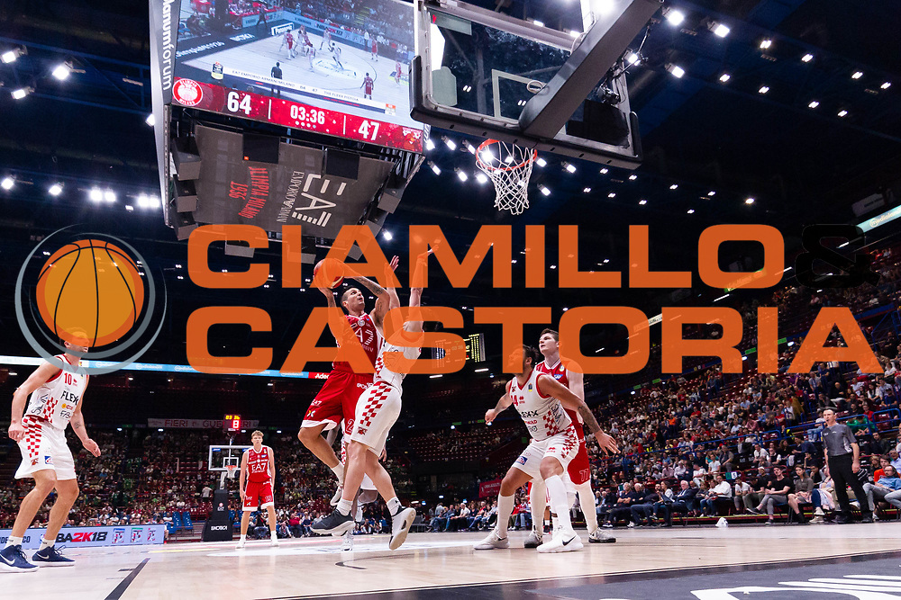 Cinciarini Andrea<br /> EA7 Olimpia Milano - The Flexx Pistoia<br /> Legabasket Serie A 2017/18<br /> Milano, 06/05/2018<br /> Foto MarcoBrondi / Ciamillo-Castoria