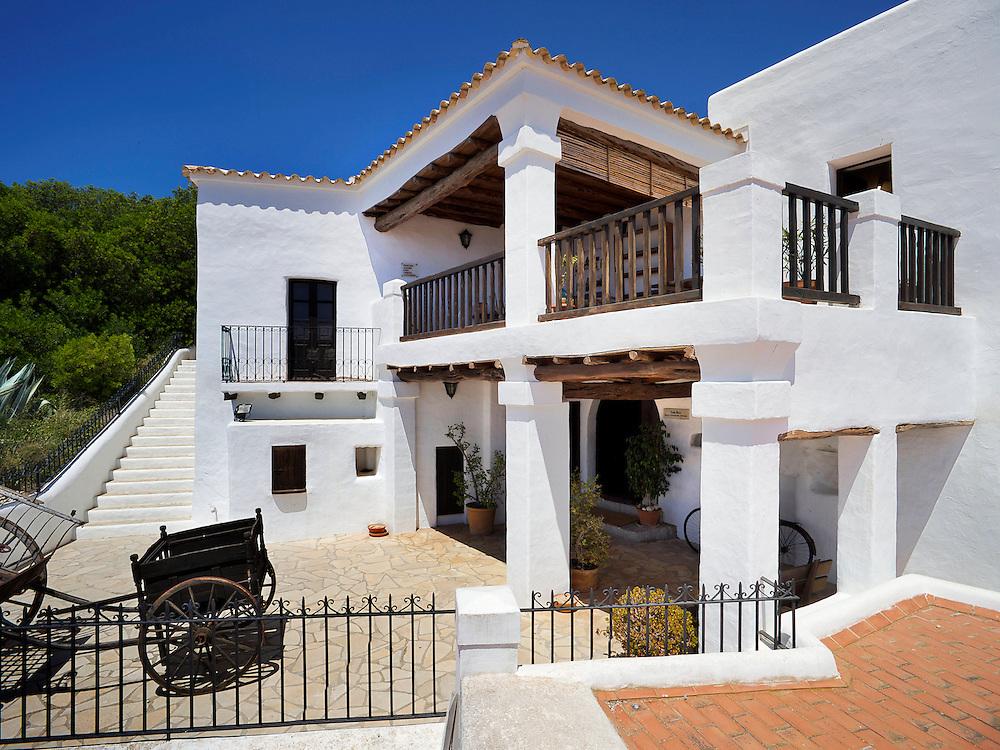 24/Junio/2009 Ibiza.Casa payesa de Can Ros, sede del Museo Etnológico, en Santa Eulalia..©JOAN COSTA