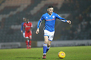 Ian Henderson during the EFL Sky Bet League 1 match between Rochdale and Walsall at Spotland, Rochdale, England on 23 December 2017. Photo by Daniel Youngs.