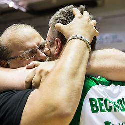 20140531: SLO, Basketball - Final match of Telemach League 2013/14, KK Krka vs KK Union Olimpija