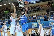 KOPER EUROBASKET 2013 <br /> 4 SETTEMBRE 2013<br /> NAZIONALE ITALIANA MASCHILE<br /> RUSSIA-ITALIA<br /> NELLA FOTO BELINELLI<br /> FOTO CIAMILLO
