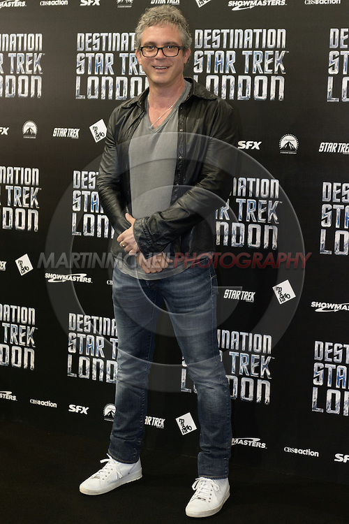 "LONDON, ENGLAND, OCTOBER 19, 2012: Cast members, writers and producers attend the ""Destination Star Trek London"" fan expo inside ExCeL in London, United Kingdom on Friday, October 19, 2012 © Martin McNeil"