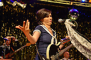 Nora Tschirner & Prag bei Kultur im Zelt, Braunschweig am 20.September 2014. Foto: Rüdiger Knuth