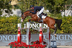 Whitaker William, GBR, Utamaro D Ecaussines<br /> CSIO Barcelona 2017<br /> © Hippo Foto - Dirk Caremans<br /> 28/09/2017