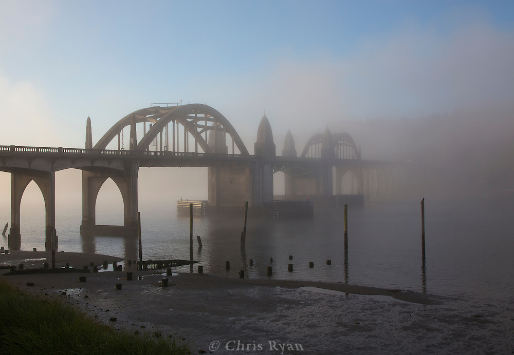 Bridge across the Siuslaw River, Florence, Oregon