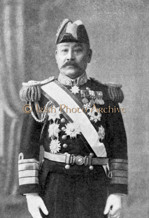 Admiral Ito. Commander-in-Chief Japanese fleet during war with China 1894-1895, Chief of Naval Board of Command during Russo-Japanese War 1904-1905.