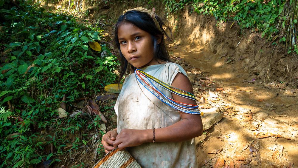 Young girl Ciudad Perdida