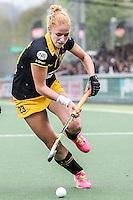 AMSTERDAM - Amsterdam - Den Bosch , Wagener Stadion , Hockey , Play-off hoofdklasse hockey , 03-05-2015 , Margot van Geffen