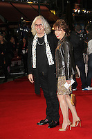 LONDON - OCTOBER 15: Billy Connolly; Kathy Lette attended the screening of 'Quartet' at the Odeon, Leicester Square, London, UK. October 15, 2012. (Photo by Richard Goldschmidt)