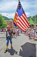 The 2013 Fourth of July parade in Aspen, Colorado.
