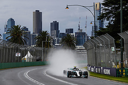 March 24, 2018 - Melbourne, Victoria, Australia - BOTTAS Valtteri (fin), Mercedes AMG F1 Petronas GP W09 Hybrid EQ Power+, action during 2018 Formula 1 championship at Melbourne, Australian Grand Prix, from March 22 To 25 - s: FIA Formula One World Championship 2018, Melbourne, Victoria : Motorsports: Formula 1 2018 Rolex  Australian Grand Prix, (Credit Image: © Hoch Zwei via ZUMA Wire)