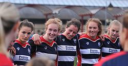 Bristol Ladies post-match team huddle - Mandatory by-line: Paul Knight/JMP - 30/10/2016 - RUGBY - Cleve RFC - Bristol, England - Bristol Ladies v Saracens Women - RFU Women's Premiership