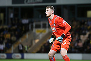 Bournemouth goalkeeper Mark Travers (42) during the EFL Cup match between Burton Albion and Bournemouth at the Pirelli Stadium, Burton upon Trent, England on 25 September 2019.
