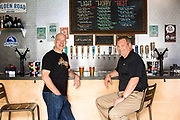 Portrait for Georg Fischer Globe magazine at Golden Road Brewing, Anaheim, Calif.