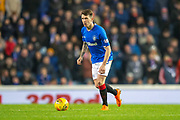 Ryan Jack (#8) of Rangers FC during the Ladbrokes Scottish Premiership match between Rangers and Aberdeen at Ibrox, Glasgow, Scotland on 5 December 2018.