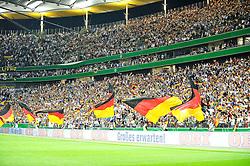 03.06.2010, Commerzbank-Arena, Frankfurt, GER, FIFA Worldcup Vorbereitung, Deutschland vs Bosnien-Herzegowina???, im Bild ein Schwarz-Rot-Goldnes Fahnenmeer,  Foto: nph /  Roth / SPORTIDA PHOTO AGENCY