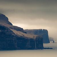 """Risin og Kellingin (""""the Giant and the Hag"""") Eiði"""
