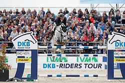 HOUTZAGER-KAYSER Julia (AUT), Elke Maria M<br /> Hagen - Horses and Dreams meets the Royal Kingdom of Jordan 2018<br /> Preis der LVM Versicherung Qualifikation zur DKB-Riders Tour<br /> 28. April 2018<br /> www.sportfotos-lafrentz.de/Stefan Lafrentz