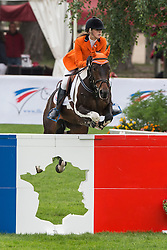 Jochems Kelly (NED) - Spirit D<br /> European Championship Poney - Fontainebleau 2012<br /> © Dirk Caremans