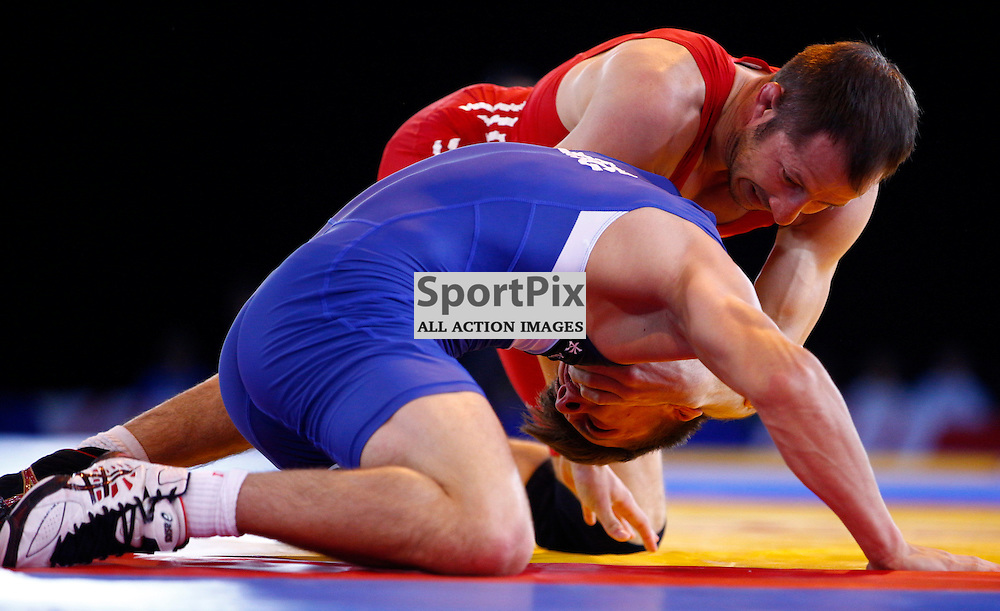 COMMONWEALTH GAMES - GLASGOW... Goerge Ramm (SCO) beats Deon Swart (AUS) and moves into the next round ...(c) STEPHEN LAWSON   SportPix.org.uk