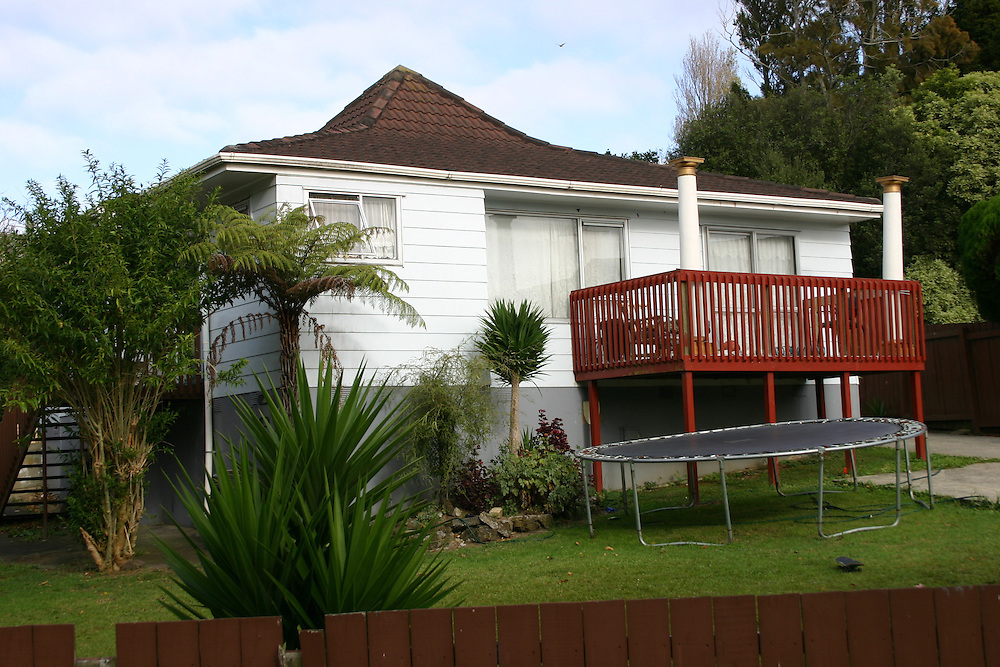 After a police investigation a 20 year old has been arrested following a serious assault on a 48 year old man at this Clendon address, Manurewa, Auckland, New Zealand, Friday, March 28, 2014. Credit:SNPA / Grahame Clark