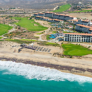 Aerial view of the Secrets Puerto Los Cabos. San Jose del cabo, Mexico.