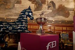 Wolrd Cup Trophee's<br /> LONGINES FEI World Cup™ Finals Paris 2018<br /> © Hippo Foto - Stefan Lafrentz<br /> 11/04/2018