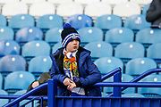 A young Sheffield Wednesday fan before the EFL Sky Bet Championship match between Sheffield Wednesday and Nottingham Forest at Hillsborough, Sheffield, England on 9 April 2019.