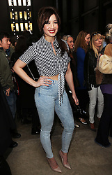 Daisy Lowe  arriving at the Topshop Unique show at London Fashion Week A/W 14,  Sunday, 16th February 2014. Picture by Stephen Lock / i-Images