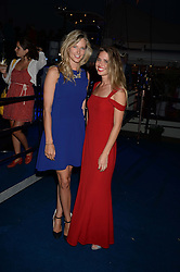 The Johnnie Walker Blue Label and David Gandy Drinks Reception aboard John Walker & Sons Voyager, St.Georges Stairs Tier, Butler's Wharf Pier, London, UK on 16th July 2013.<br /> Picture Shows:-Olivia Hunt, Alessandra Balazs