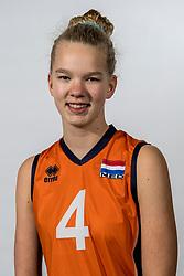 08-12-2017 NED: Reportage pre jeugd Oranje meisjes, Arnhem<br /> Eva Schuurman #4 of De Bevers