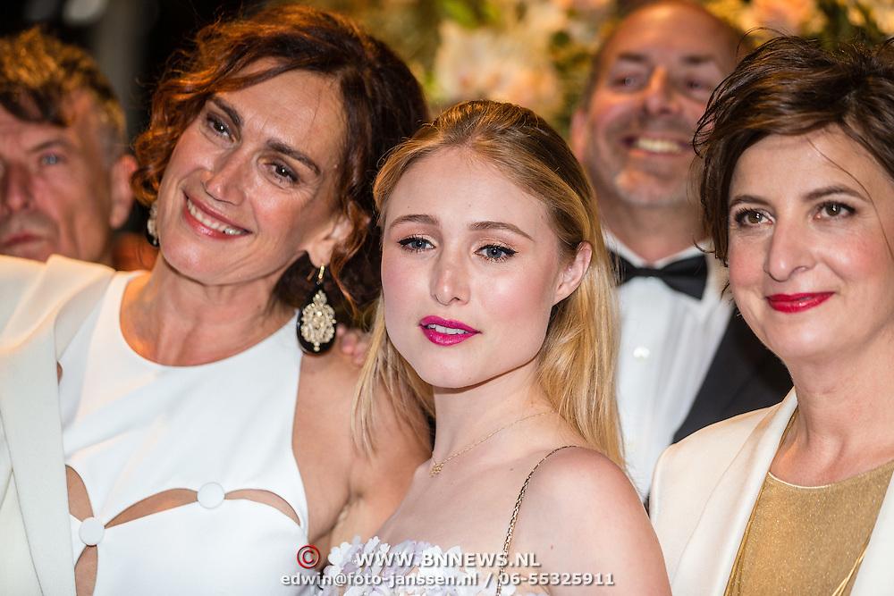 NLD/Amsterdam/20161013 - Televiziergala 2016, cast Penoza, Monic Hendricxs, Sigrid ten Napel en Jacqueline Blom