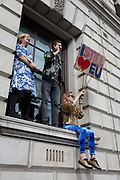 "Seven days before the original for the UK to leave the EU, hundreds of thousands of Brexit protestors marched through central London calling for another EU referendum. Organisers of the ""Put It To The People"" campaign say more than a million people joined the march before rallying in front of Parliament, on 23rd March 2019, in London, England."