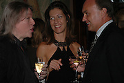 Michelle Lavery and Nicholas Coleridge, Telegraph magazine 40th anniversary, Windows, London Hilton. 6 September 2004. SUPPLIED FOR ONE-TIME USE ONLY-DO NOT ARCHIVE. © Copyright Photograph by Dafydd Jones 66 Stockwell Park Rd. London SW9 0DA Tel 020 7733 0108 www.dafjones.com