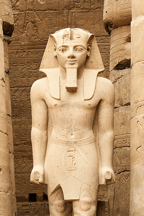 A Statue of Rameses II At Luxor Temple, Egypt