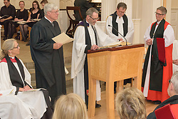 Rt. Rev. Audrey C. Scanlan Conferral Divinitatis Doctor. A Service of Evensong Together with the Conferral of Honorary Degrees. 20 October 2015. Berkeley Divinity School at Yale University.