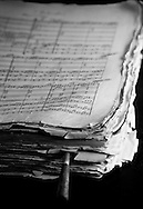 Classical music score, Kazakhstan