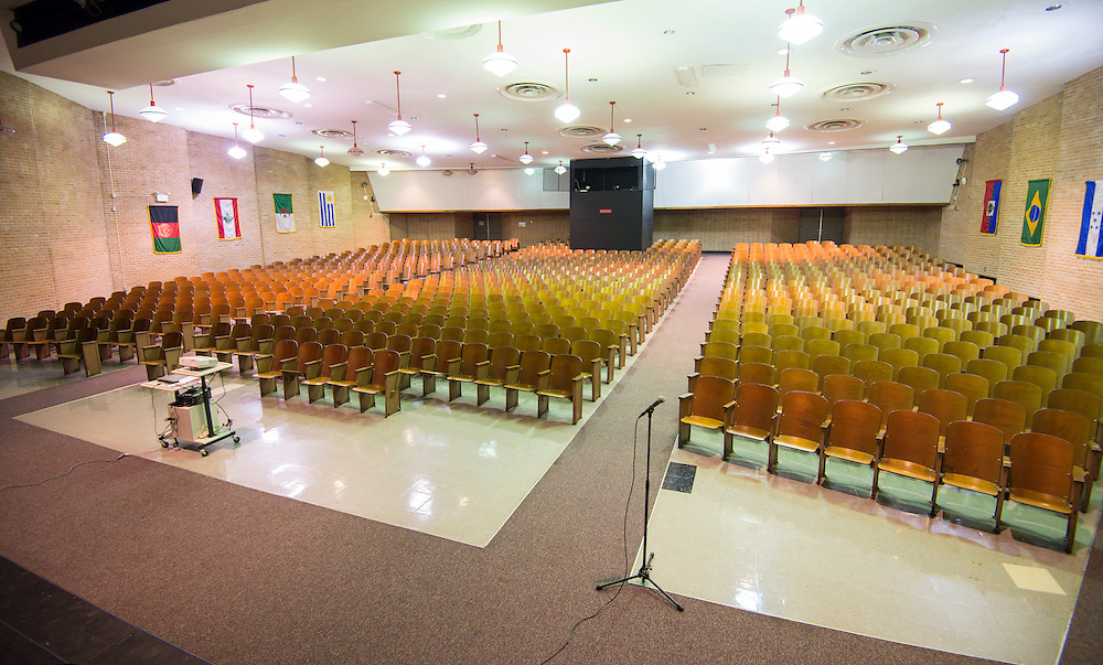 Lee High School auditorium, December 16, 2013.