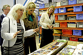 Prinses Máxima bezoekt Reclassering Nederland