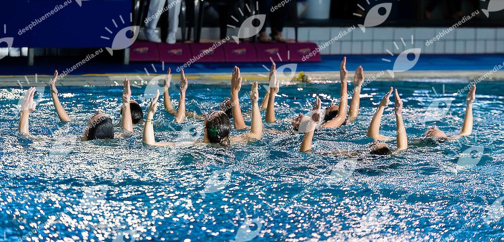 Olgiata 20.12.Finale Squadra.Campionati Italiani  Invernali di Nuoto Sincronizzato.Verona 1 - 3 febbraio 2013.Photo G.Scala/Deepbluemedia/Inside
