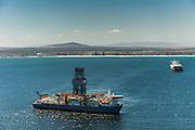 Ultra-deepwater drilling ship Pacific Khamsin