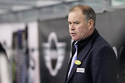 16.12.2012, Hala Tivoli, Ljubljana, SLO, EBEL, HDD Telemach Olimpija Ljubljana vs Dornbirner Eishockey Club, 31. Runde, in picture Dave MacQueen, head coach of Dornbirner Eishockey Club, during the Erste Bank Icehockey League 31st Round match between HDD Telemach Olimpija Ljubljana and Dornbirner Eishockey Club at the Hala Tivoli, Ljubljana, Slovenia on 2012/12/16. (Photo By Matic Klansek Velej / Sportida)