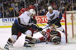 30 December 2001:  Washington Capitals vs. the Carolina Hurricanes at the.MCI Center in Washington, DC.