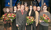 2018, December 02. Luxor Theater, Rotterdam. Premiere van de musical The Addams Family. Op de foto: de cast