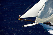 Altair racing in the St. Barth Bucket regatta.