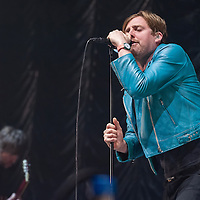The Kaiser Chiefs in concert at Clyde 1 Live, The SSE Hydro, Glasgow Scotland, Great Britain 18th December 2016